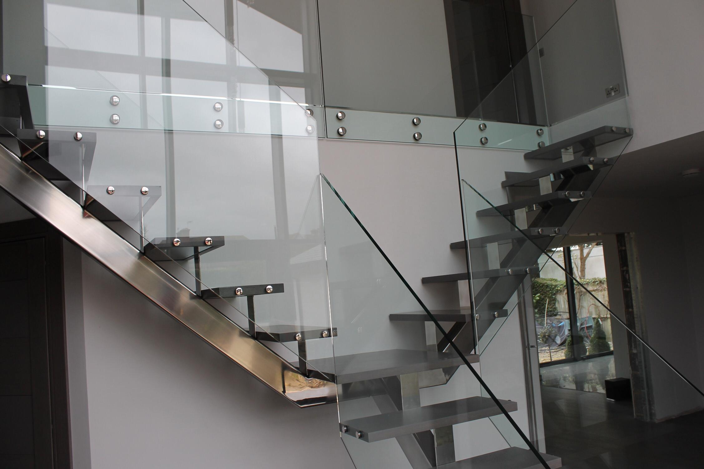 Modern house staircase designs prefabricated stairs steel