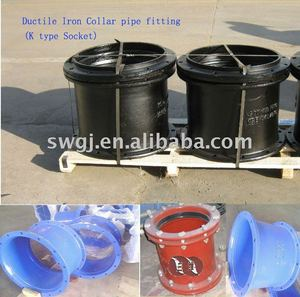Ductile Iron Double Socket K-type Collar pipe fitting