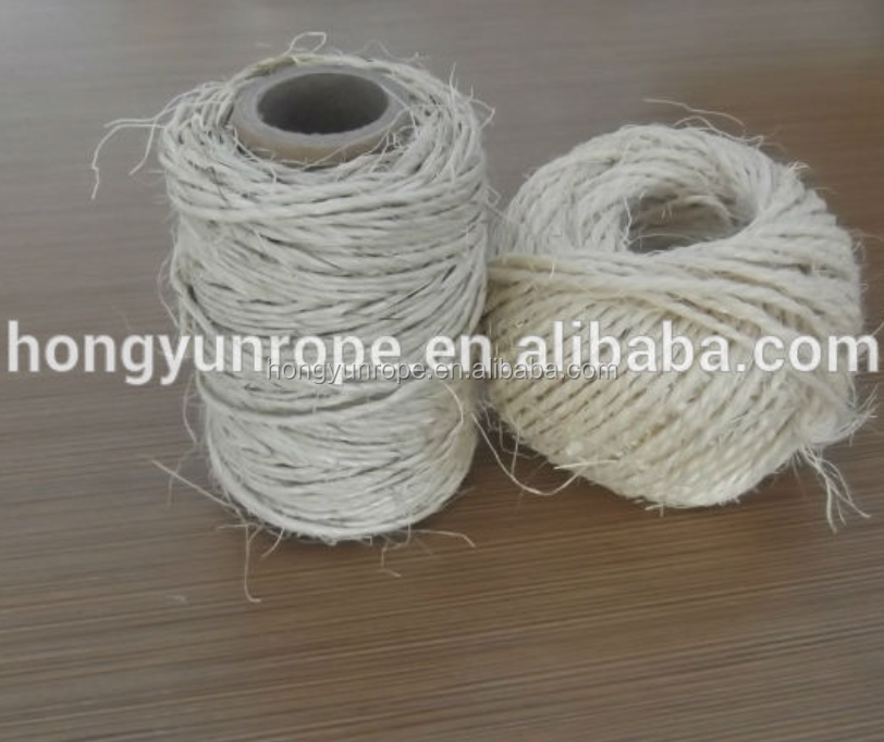 Natural Color Sisal Yarn from China Supplier