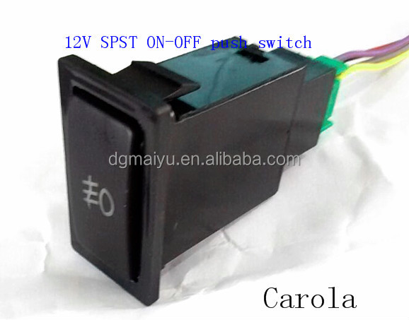 On/off Toyota Fog Light Switch (on)-off Momently Auto Switch