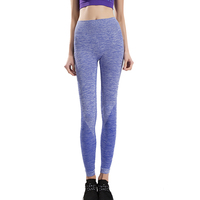 OEM ODM Service Factory Wholesale Hot Sale purple color high quality sexy seamless women sport legging yoga