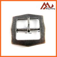 custom design fashion black nickle metal pin buckle for belt