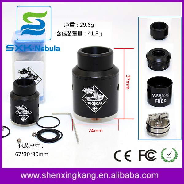 SXK New Coming Doggy Style RTA 1:1 Clone Flawless AF RDA By Tugboat