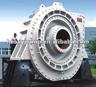 chrome26% centrifugal mud dredging pump for rivers and lakes