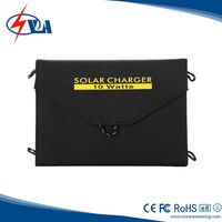 10W portable solar power pack with solar panel charge