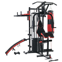 Deluxe multi-station power exercise equipment HG480,indoor entertainment&gym relax&tension