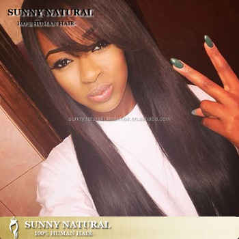 9A Grade Silky Straight Unprocessed Lace Front Wigs Glueless Human Hair Wigs for Black Women Brazilian Front Lace Wigs