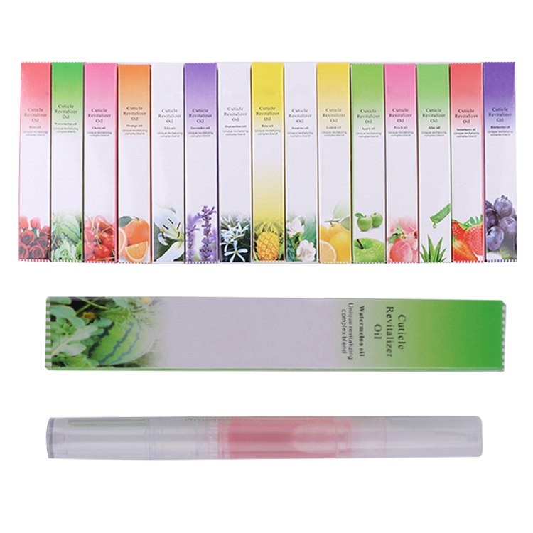 Hot Sale Cuticle Oil Nail Nutrition Oil Pen Softener Moisturizing Moist Nail Treatment Protection Nail Oil With 15 Flavors