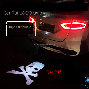 car light Auto led projector logos lamp customized design company LOGO
