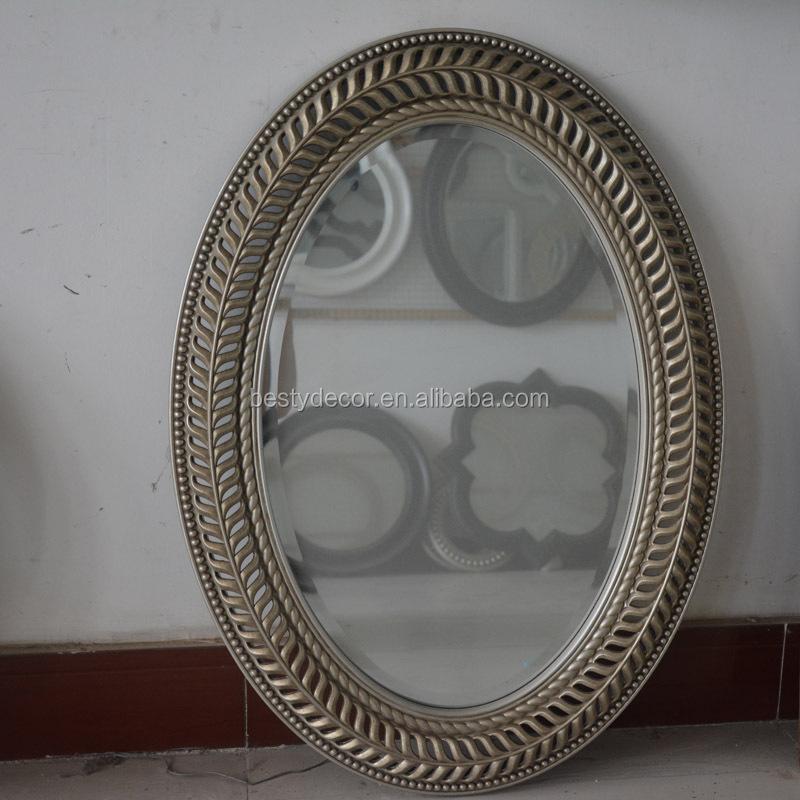 Specchi adesivi ovali all 39 ingrosso acquista online i - Specchio ovale vintage ...
