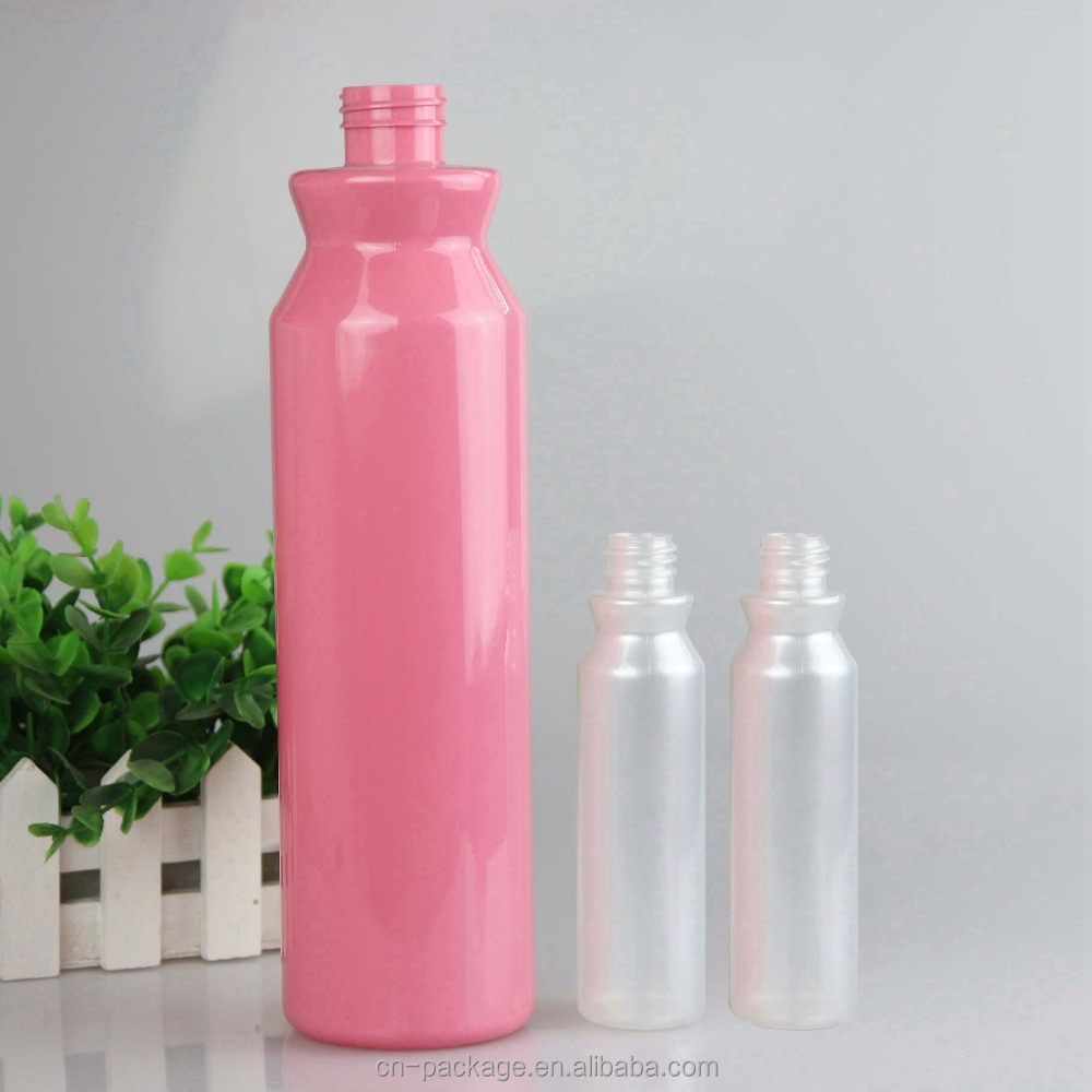 High quality cheap PET bottle for 120/1000ml shampoo pink/yellow/ white