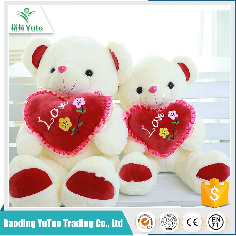new products 2016 comfortable wholesale plush valentine teddy bear