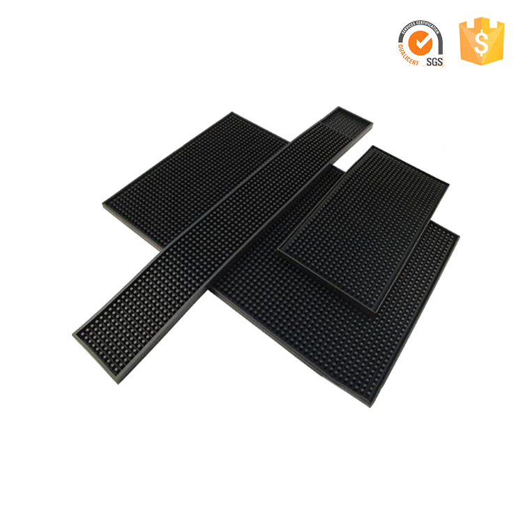 Cheap Service Spill Service <strong>Wine</strong> Anti Slip Custom Silicone PVC Bar Mat