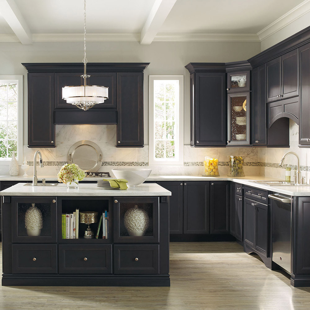Hot Selling Solid Wood American Style Affordable Black ...