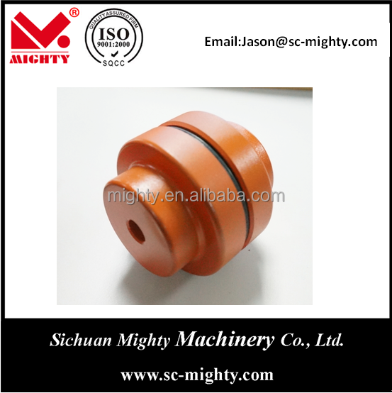 low noise quick rubber coupling with elastic spider customized