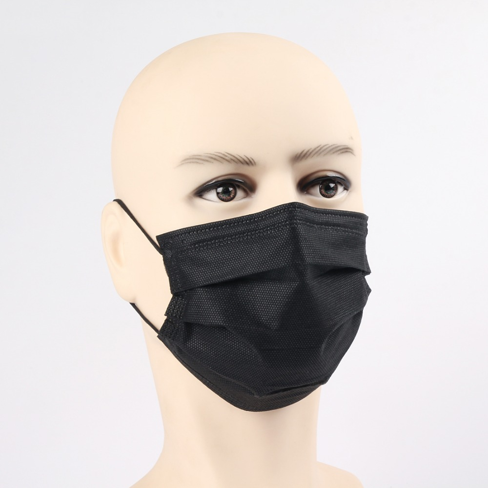Have An Inquiring Mind Mouth Mask Cotton Cute Pm2.5 Anti Haze Black Dust Mask Nose Filter Windproof Face Muffle Bacteria Flu Fabric Cloth Respirator Masks Health Care