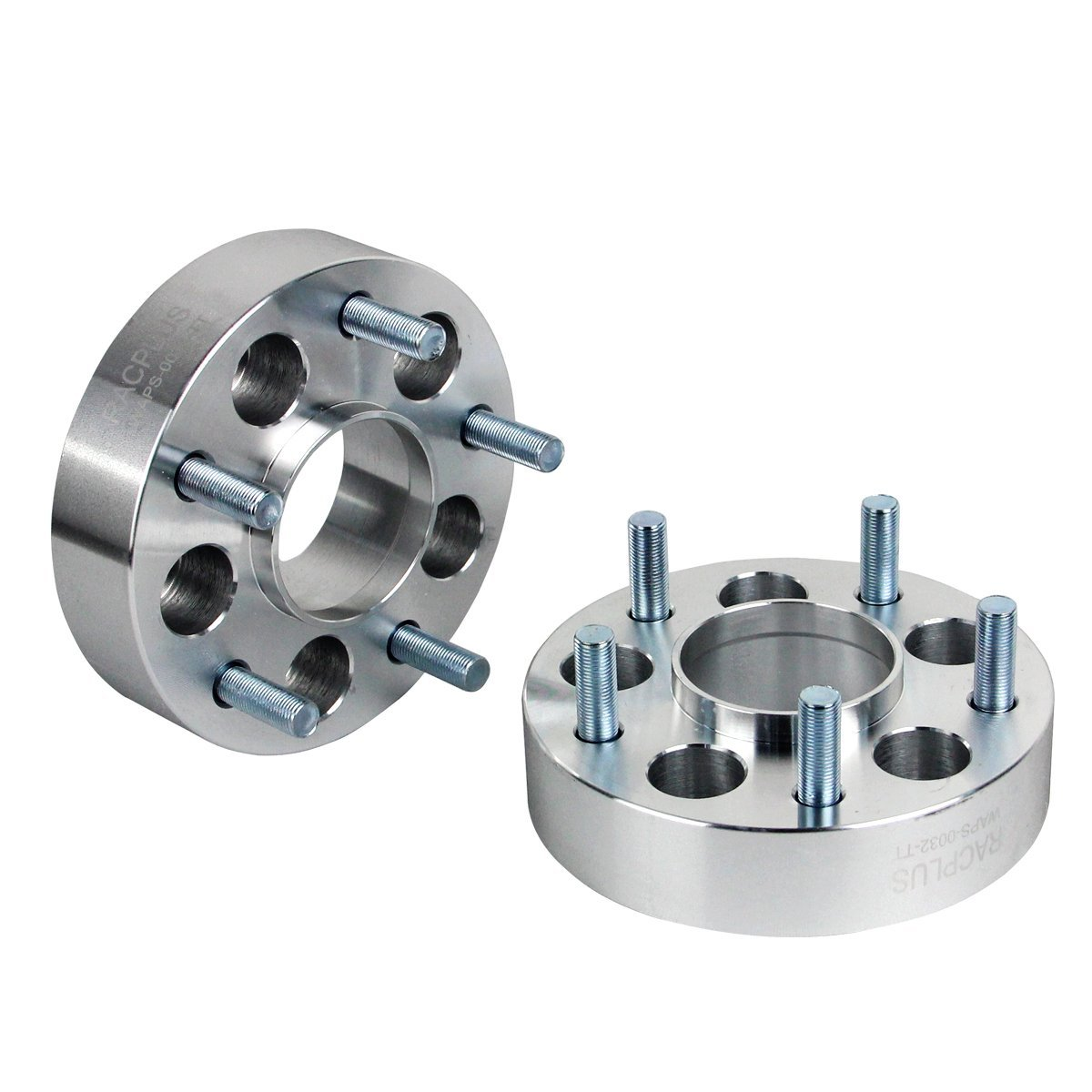 """GESS 2pcs 1.5"""" 5x4.5 to 5x5(5x114.3 to 5x127) Hubcentric Wheel Spacers/Adapters 