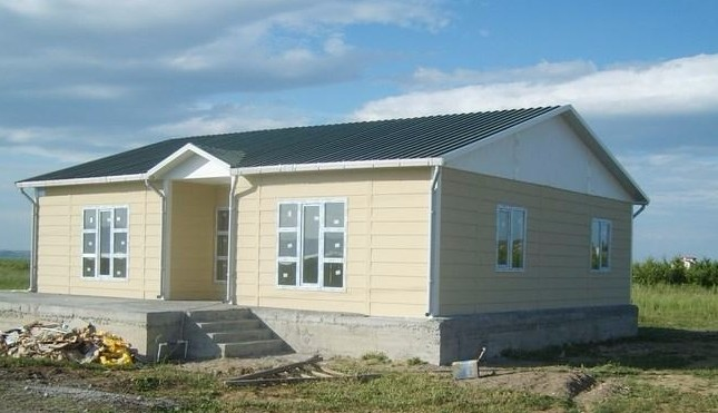 Low cost install convenient long lifespan small prefab for Small house design in nepal