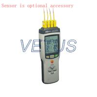 Portable HE804 4 Channel temperature data logger