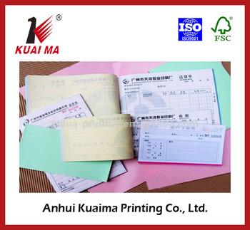 Custom Cash Receipt BookBusiness Invoice Sample Book Printing Buy - Custom invoice book printing