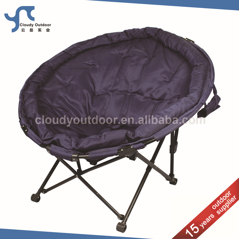 Comfortable Padded Folding Round Camping Chair Buy