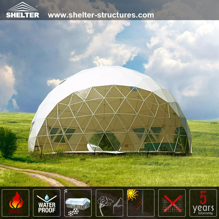 Good View Strong Structure Geodesic Dome For Sale - Buy ...