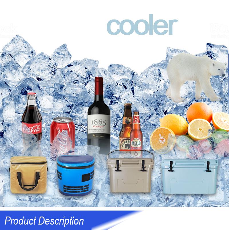 2018 High Quality 840D Tpu Waterproof Fishing Cooler Bag