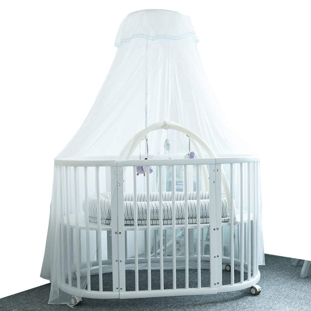 Mosquito Net For Baby Cribs Breathable Against Mosquito Insect Bugs Flies Mosquito Guard Baby Crib Netting Canopy Toddler Cribs Beds Bassinets Playpens Cradles, No Chemicals, Safety