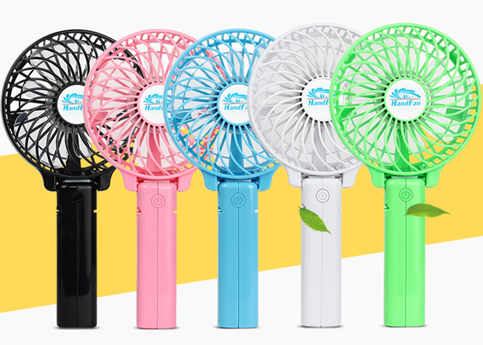 electric hand fan. small hand held mini usb electric dc cooling table folding usha rechargeable fan a