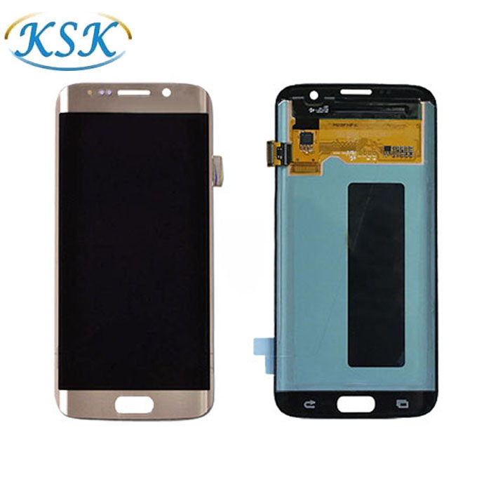 mobile phone display screen For S7 Edge lcd with touch