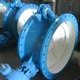 DIN Standard Gearbox Double Flange Butterfly Valve with bypass