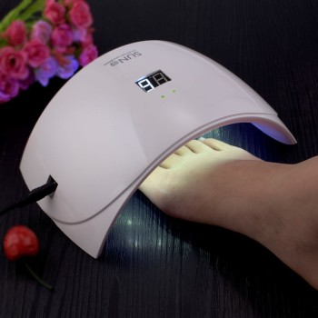 hot sale best manicure pedicure uv lamp for nails sun 9s uv led lamp fast drying gel polish led light
