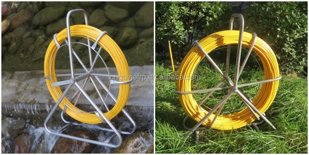 Copper tracers frp cable duct rodder fiberglass