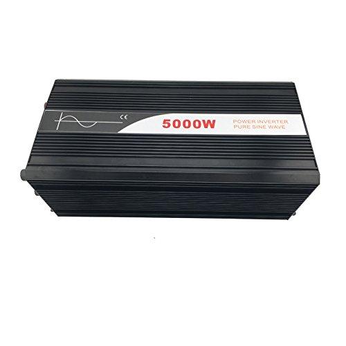 Xijia 5000W (Peak 10000W) Pure Sine Wave power Inverter DC 12V 24V 48V to AC 120V 60HZ Solar converter For Home Use car (DC 12V to AC 120V)