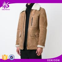 High quality OEM winter plain dyed long sleeve price coat