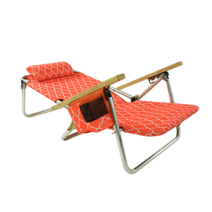 Onwaysports OW-57B Aluminum Cheap Folding Sun Lounger Beach Chair