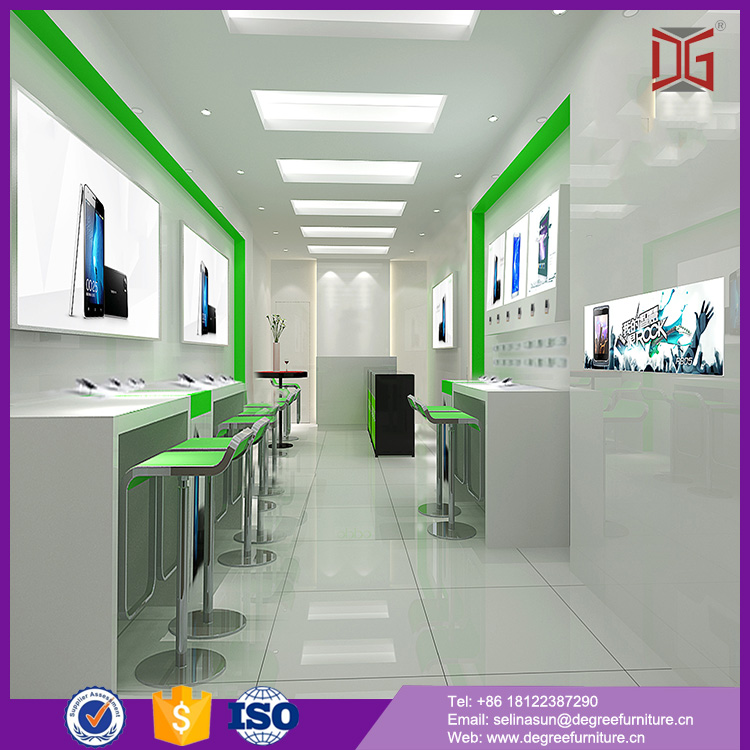Customized High End Free Design China Computer Shop Interior