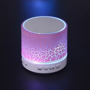 New flashlight wireless speaker bluetooth speaker with led light