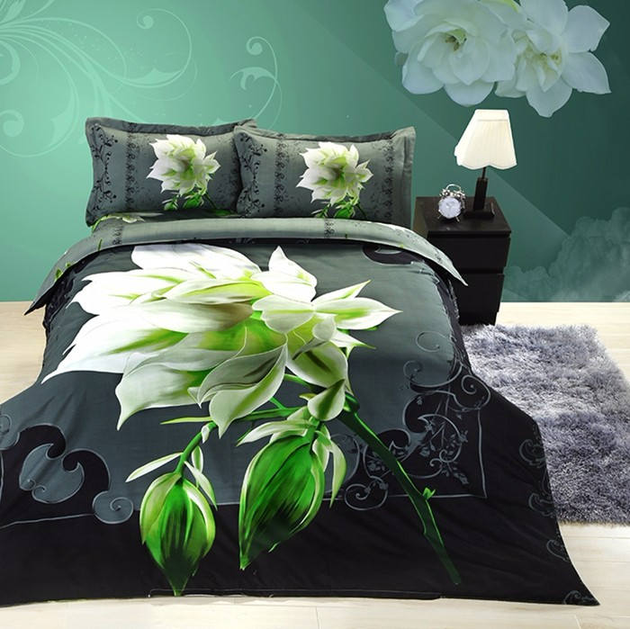3D Design Bedding <strong>Set</strong>, 100% Polyester Fabric 3D Printed Disperse Bedsheet ,Bedding Sheet
