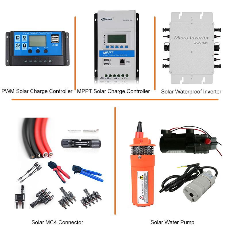 Epever MPPT 60A Solar Charge Controller 12 V 24 V 36 V 48 V Lampu Latar LCD dengan Max PV 150 V Input Perekaman Real-Time Tracer6415AN