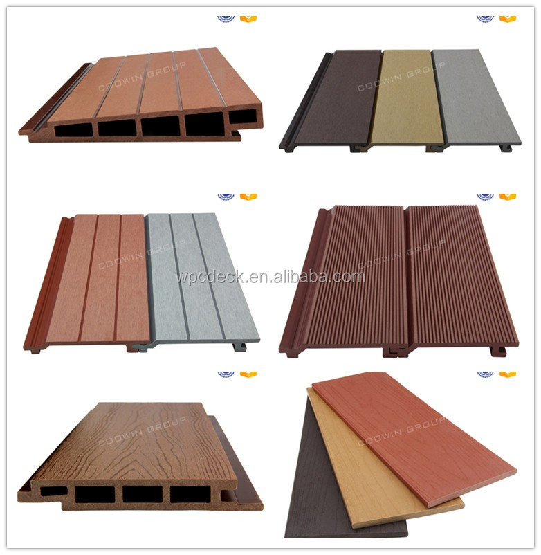 Wpc plastic wood grain wall siding for sale buy wood for Wood grain siding panels