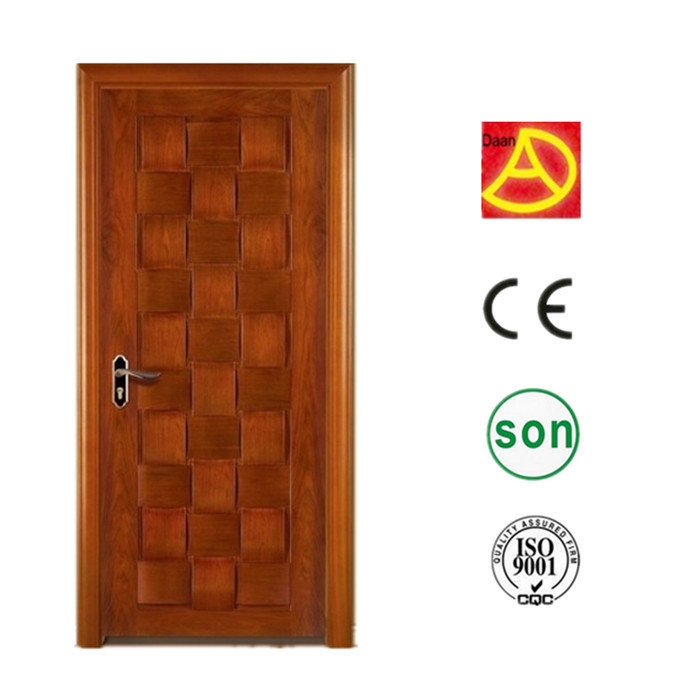 alibaba china best sale various kinds of interior finished natural solid oak door DA-304