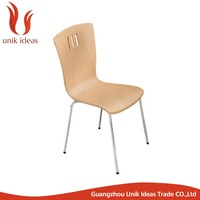 Commercial restaurant furniture bent wood laminate dining chairs