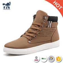 HFRTA72 2017 autumn winter hot men stylish high top neck canvas casual shoes