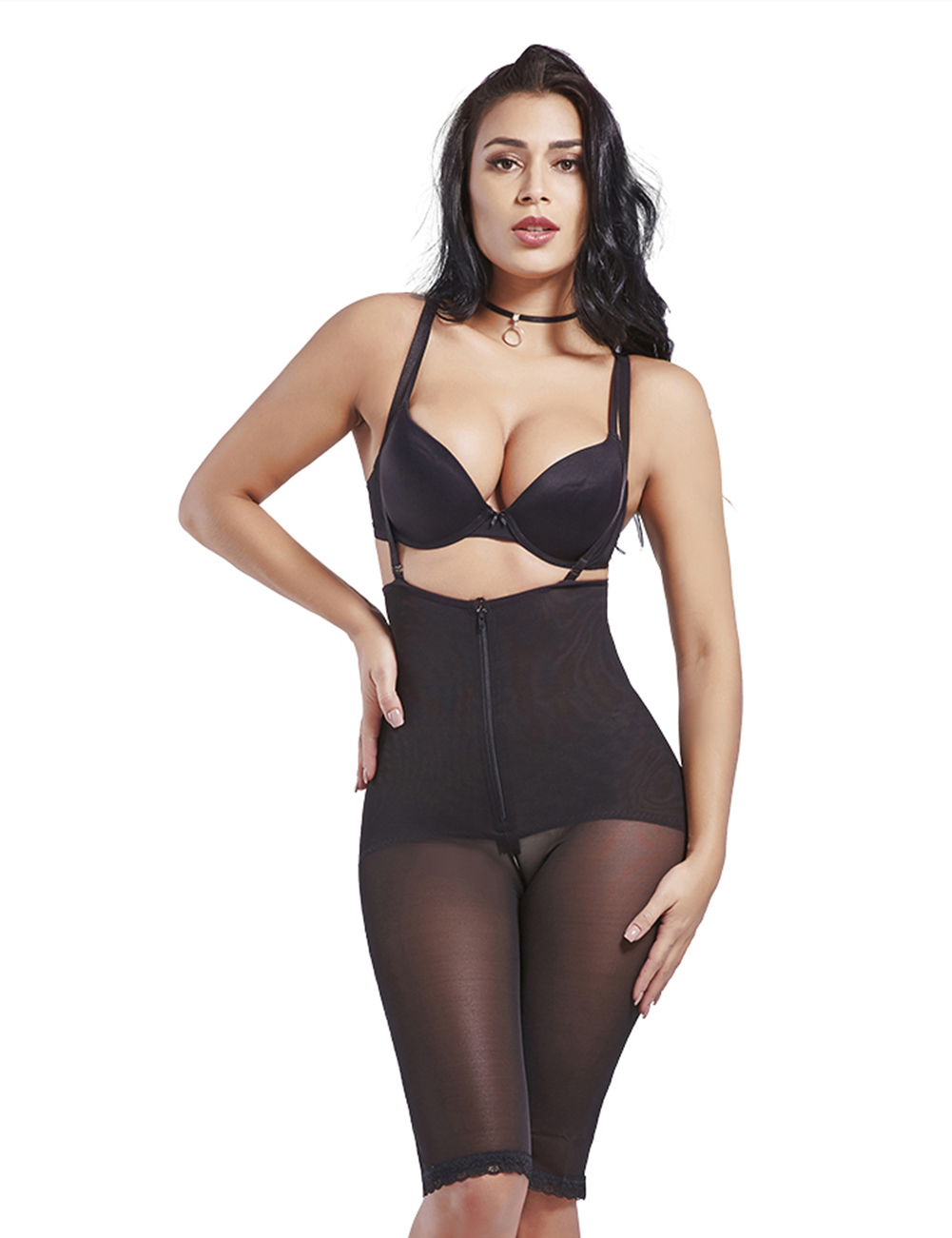 Mulheres colombianas Private Label Plus Size Látex Cintura Instrutor Corsest