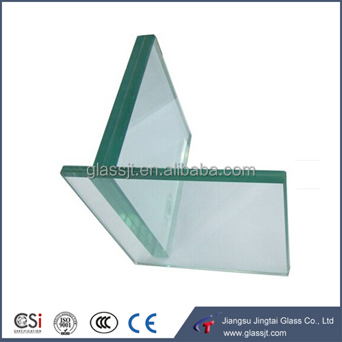 5+0.38+5mm pvb clear laminated safety glass for building with AS/NZS 2208:1996