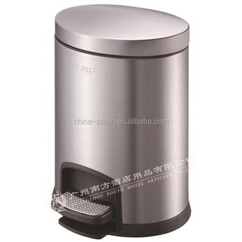 5l Stainless Steel Pedal Waste Bins Household Pedal Bin Kitchen Garbage Bin Buy 5l Foot Pedal Garbage Bin 5lstainless Steel Bathroom Foot Pedal