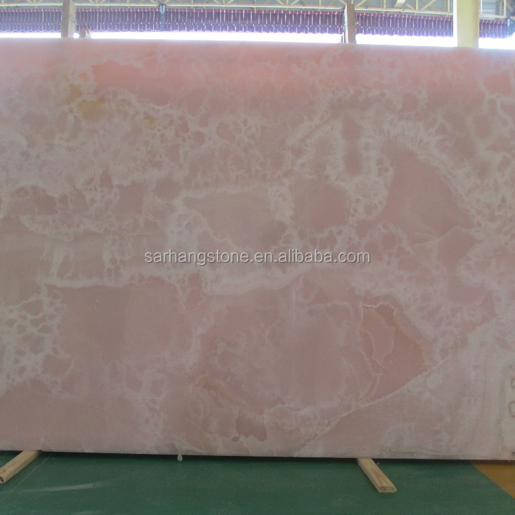 Red Onyx Marble Slab For For Background Wall