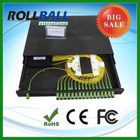 providing PLC1x2 1x8 1*32 up to 1x64 fiber optic splitter , optic fiber splitter with nice price