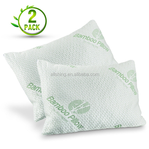 Wholesale Bamboo Pillow, Shredded Memory Foam, Orthopaedic Comfort, Relieves Neck Pain, Snoring